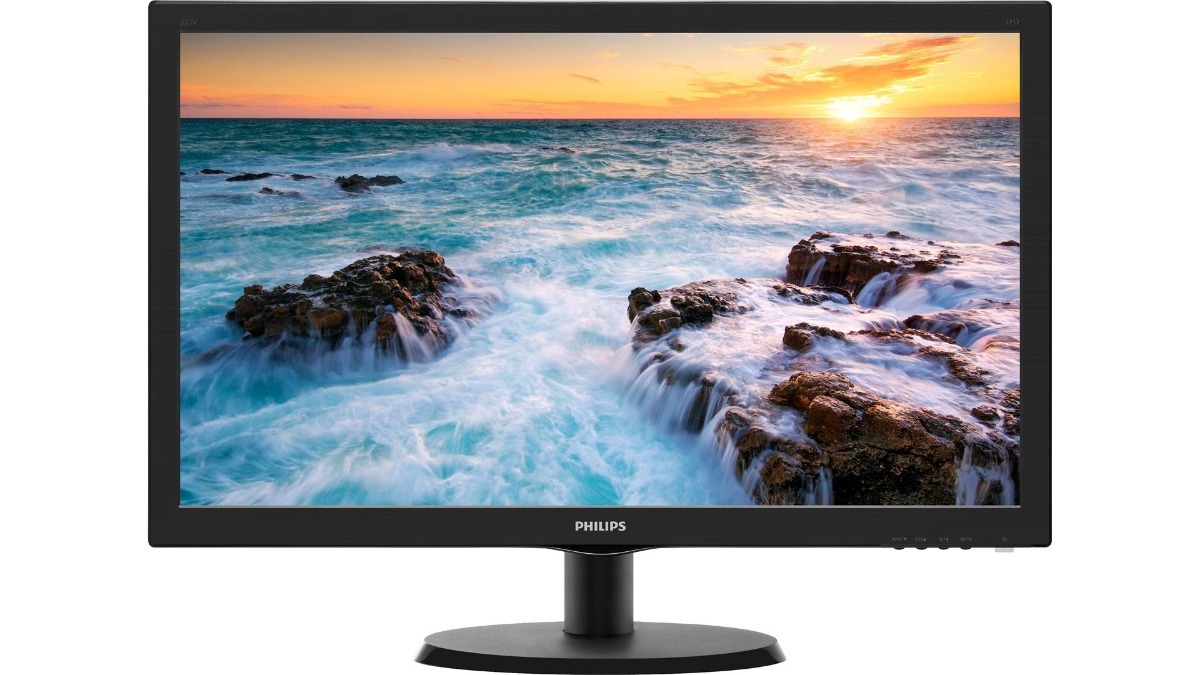 Monitor 24' LED Philips V-Line Full HD HDMI + VGA