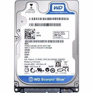 Disco Rigido para notebook 1 TB WD Sata