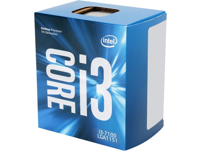 Intel Core i3 7100 3.9 Ghz Kabylake Socket 11..