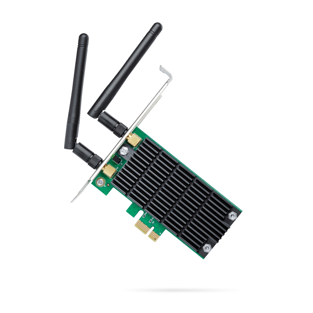 Placa WI FI Interna TP-Link Dual Band 1200 MB..