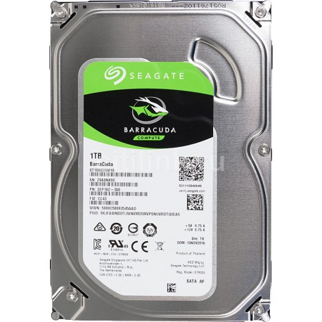 Disco Rigido 1 TB Seagate Barracuda SATA3 720..
