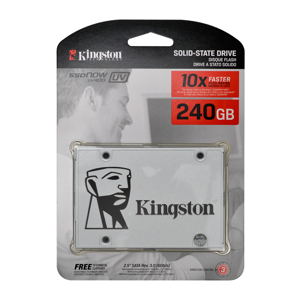 Disco SSD 240 GB Kingston A400