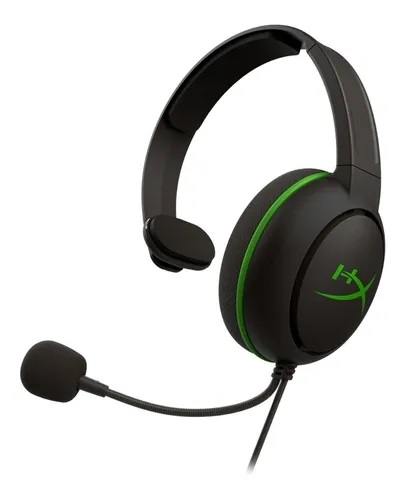 Auricular HyperX Cloud Chat Black/Green XBOX