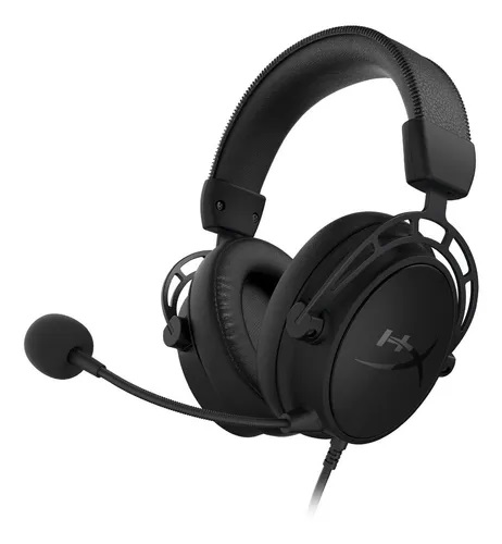 Auricular HyperX Cloud Alpha S 7.1 Black Red