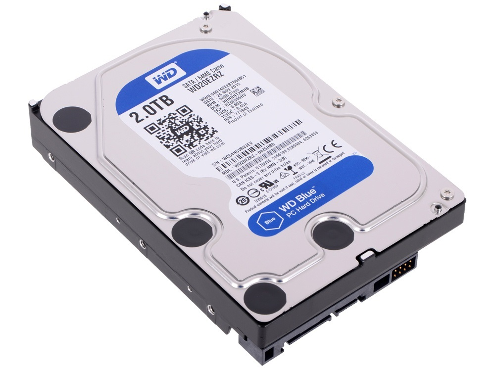 Disco Rigido 2 TB WD Blue SATA3