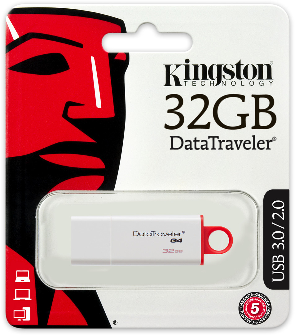 Pendrive Kingston 32 GB [USB 3.0 + 3.1]