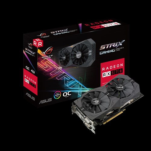 RX 570 [4 GB] ASUS ROG Strix Aura Gaming