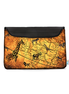 FUNDA 14/15' NOTEBOOK BAGS ANTIQUE MAP