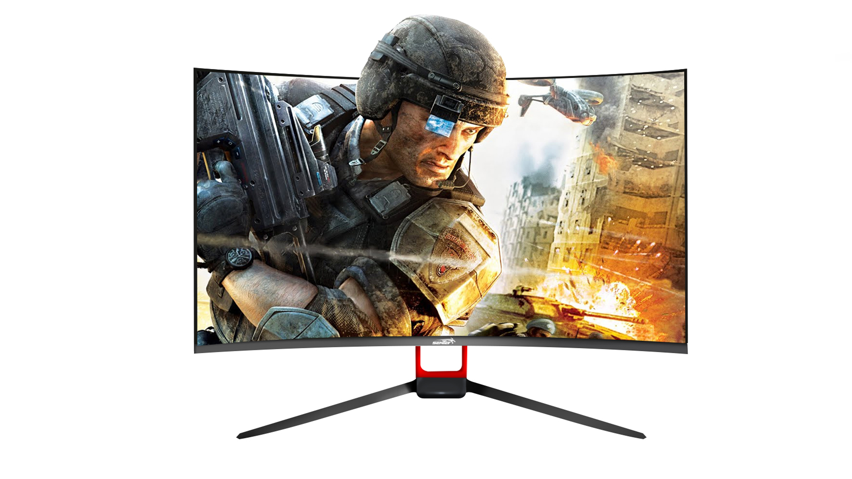 Monitor 27' Curvo 165 Hz Sentey AMD Freesync ..