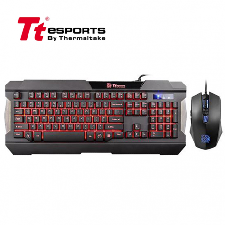 Teclado y Mouse Thermaltake Commander Multi Light