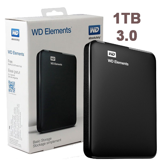 Disco Externo 1 TB WD Elements USB 3.0