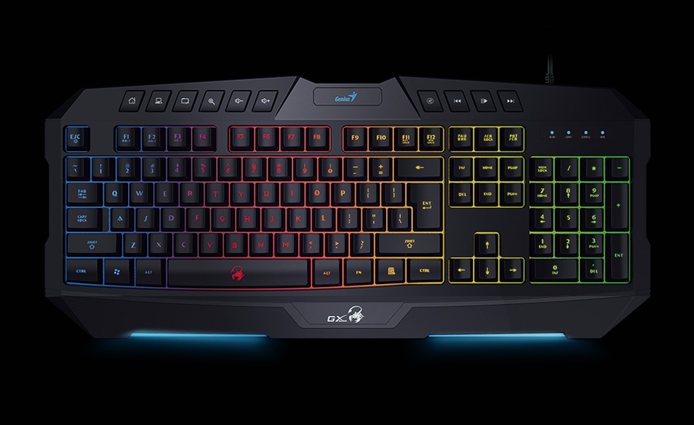 Teclado GX Scorpion K20 RGB Led Antighosting Hotkeys
