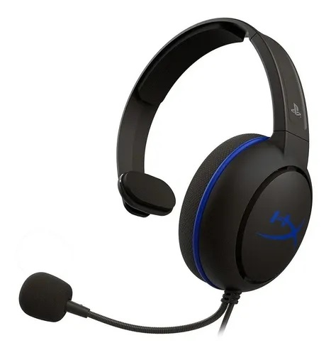Auricular HyperX Cloud Chat Black/Blue PS4