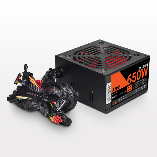 Fuente Sentey LNZ 650W Red Fan