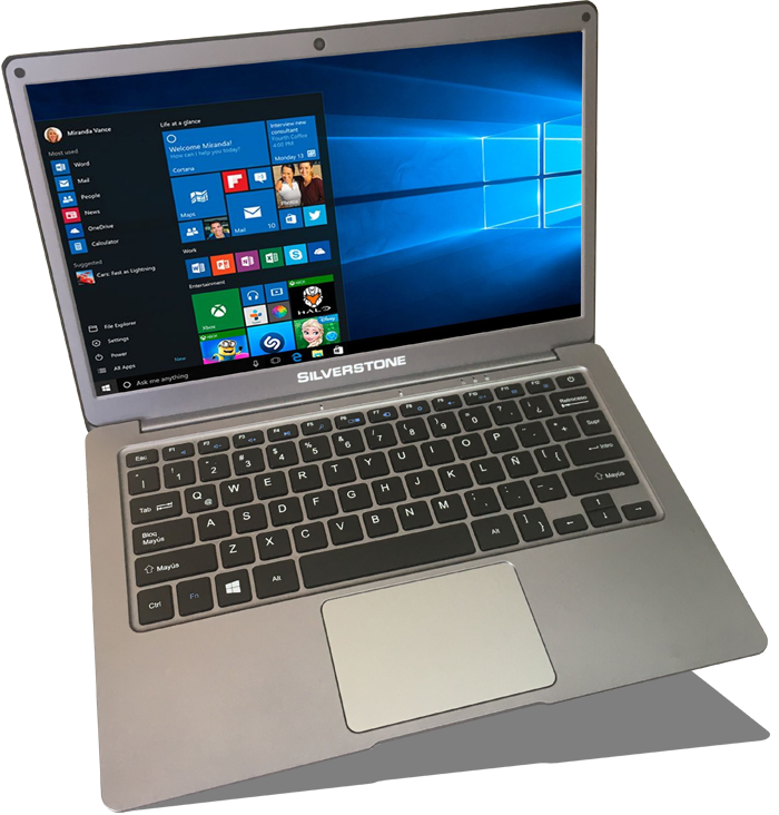 Cloudbook Intel Quad Core 4 GB Full HD Win 10 SSD 32 GB
