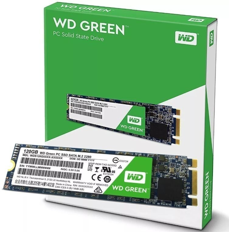 Disco SSD 120 GB WD Green M.2 2280