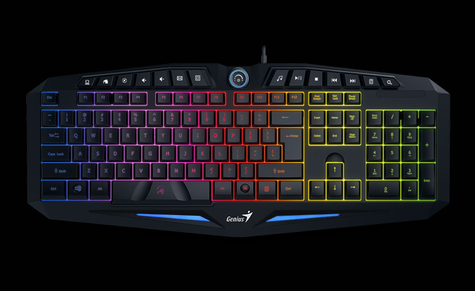 Teclado GX Scorpion K9 RGB Led Antighosting Hotkeys