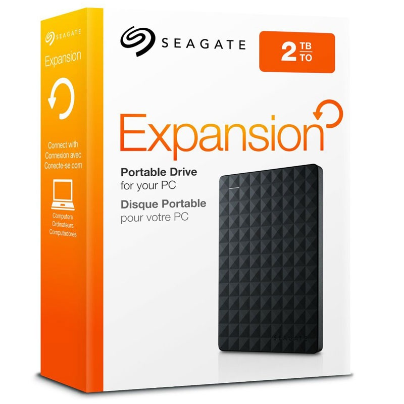 Disco Externo 2 TB Seagate Backup Plus USB 3.0