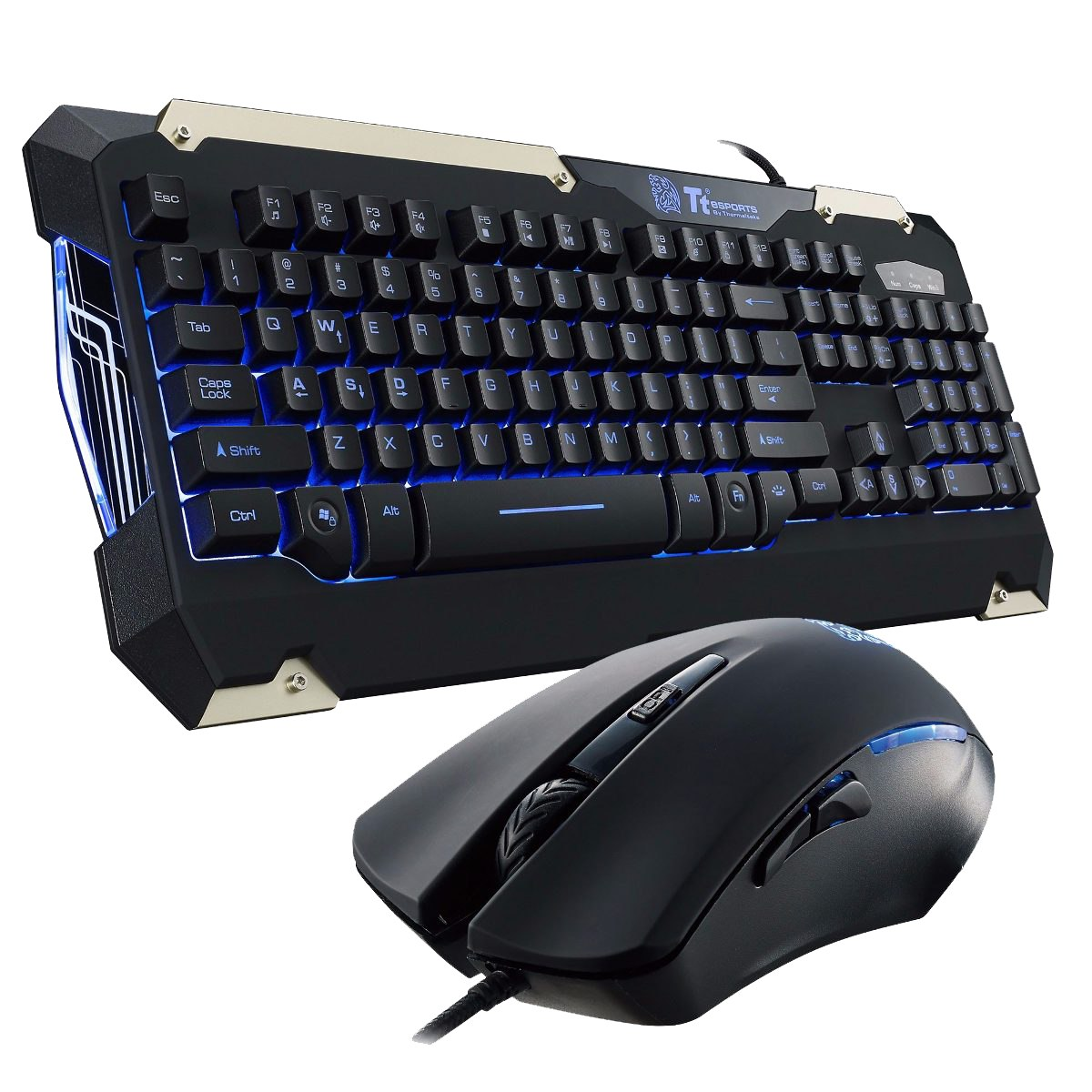 Teclado y Mouse Thermaltake Commander