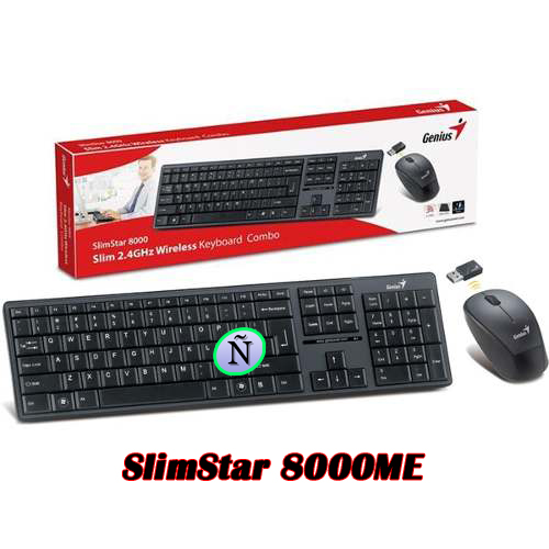 Kit Teclado + Mouse SlimStar 8008