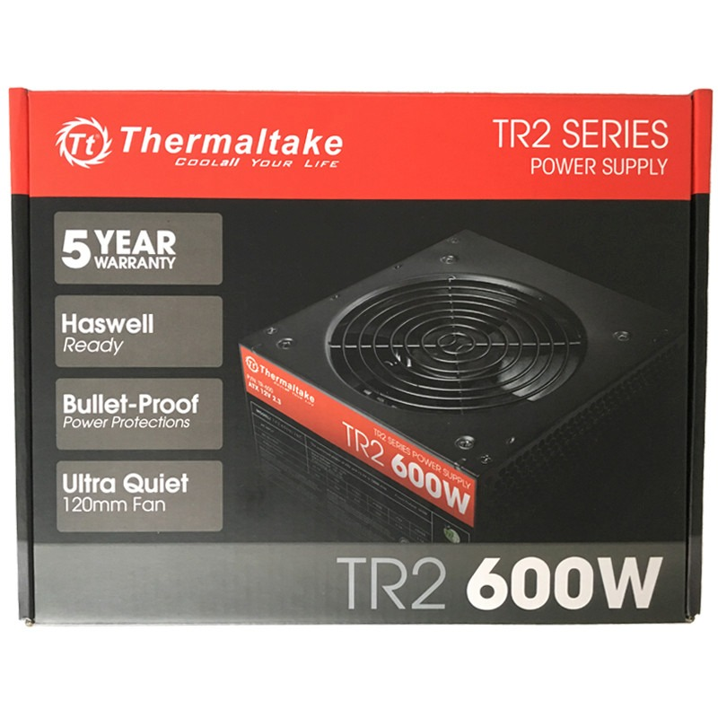 Fuente Thermaltake TR2 600W Reales