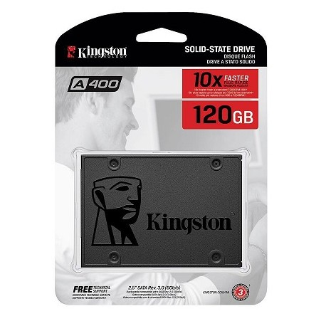 Disco SSD 120 GB Kingston UV400 SATA3